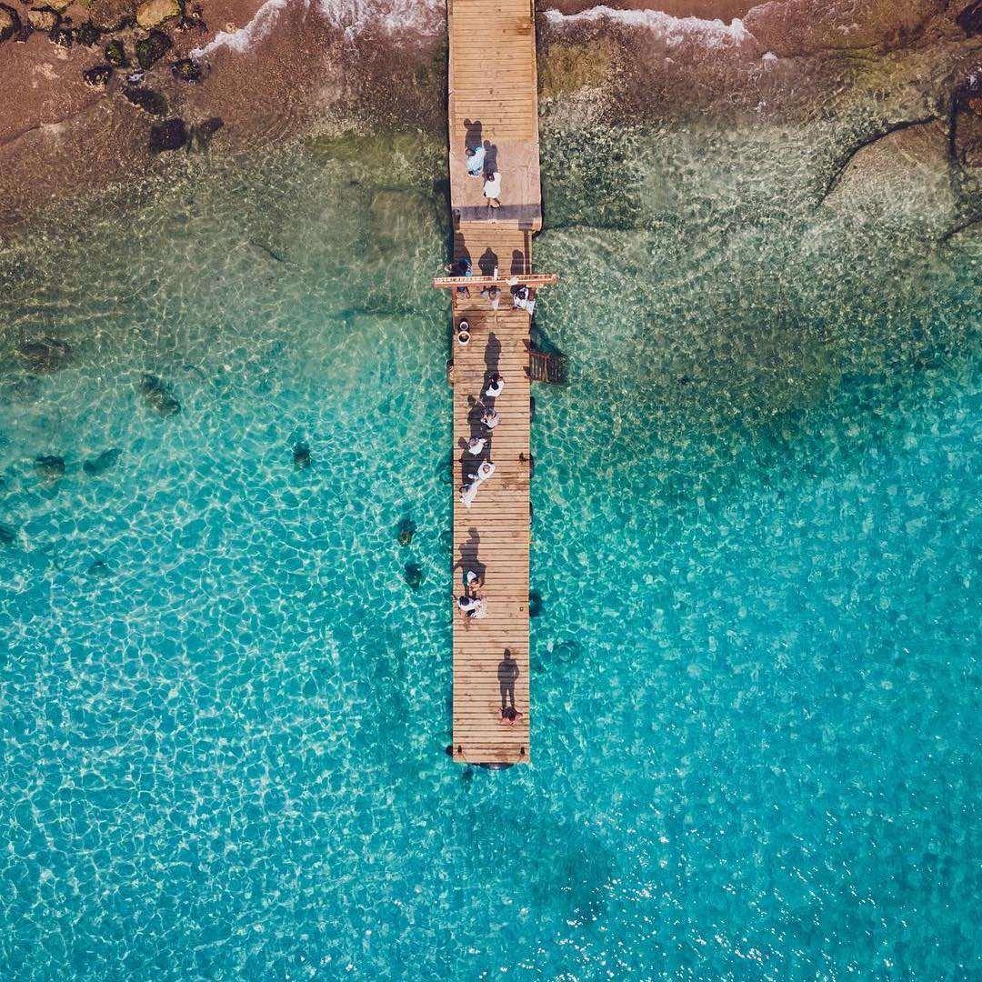 加勒比库拉索岛Piskado渔夫海滩