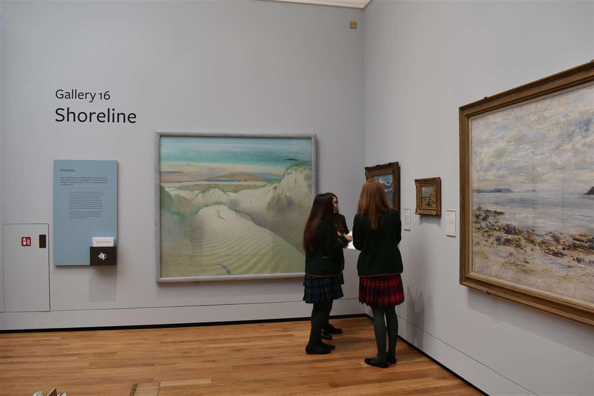英国苏格兰阿尔宾学校阿伯丁艺术画廊