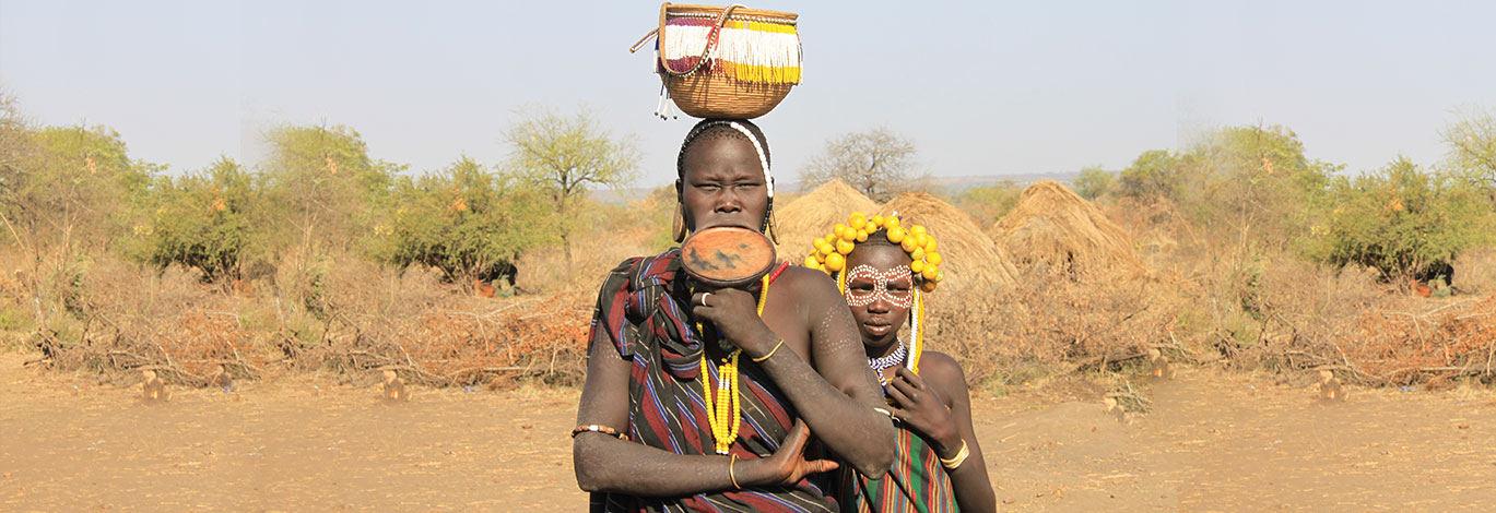 埃塞俄比亚原始部落
