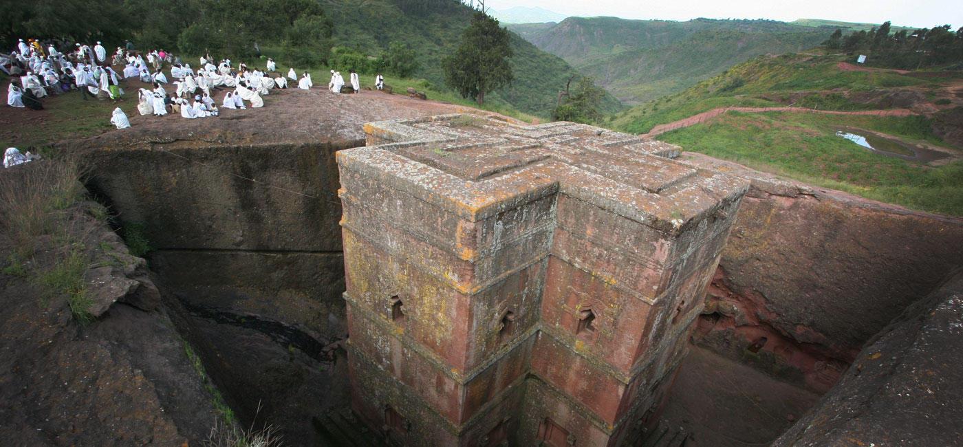 埃塞俄比亚拉利贝拉岩石教堂