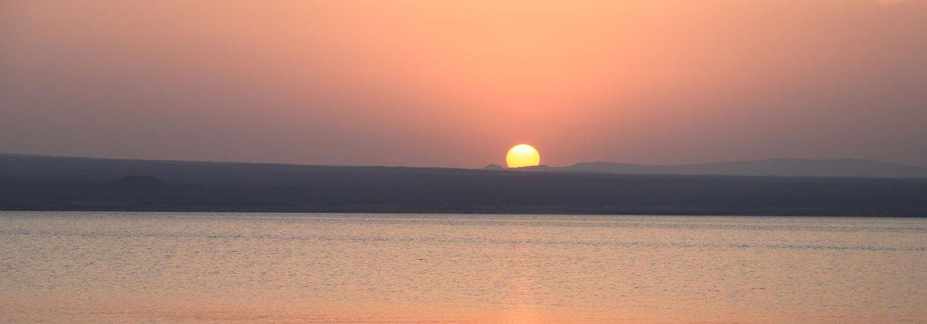 埃塞俄比亚塔纳湖夕阳