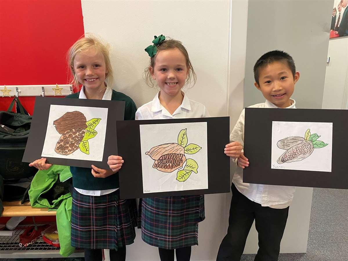 英国留学苏格兰阿尔宾私立学校绘画