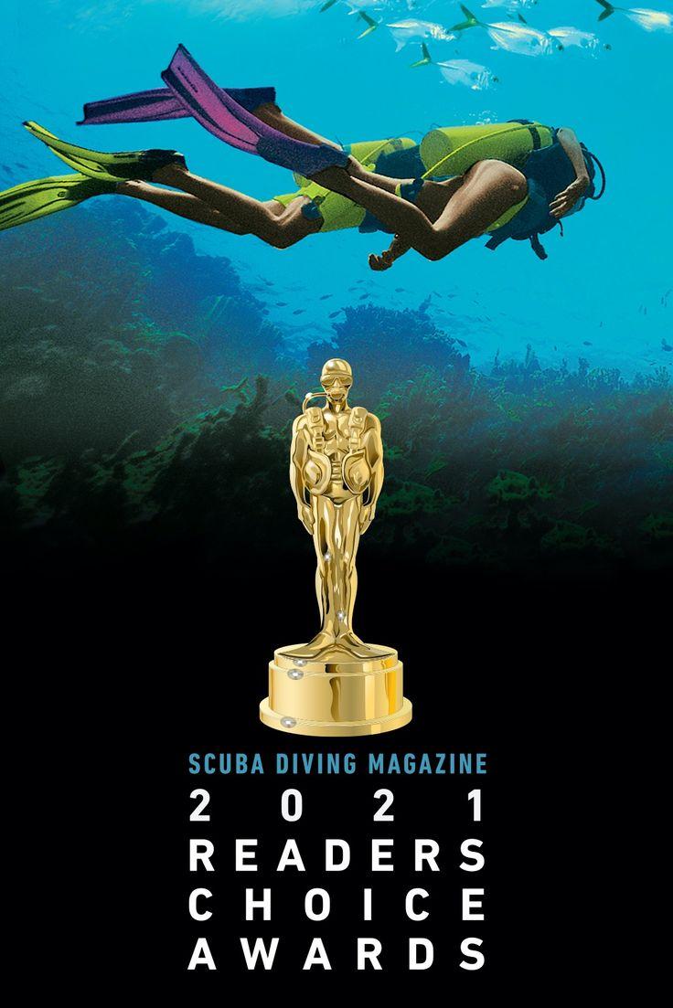 "《Scuba Diving》潜水杂志2021""读者之选奖"""