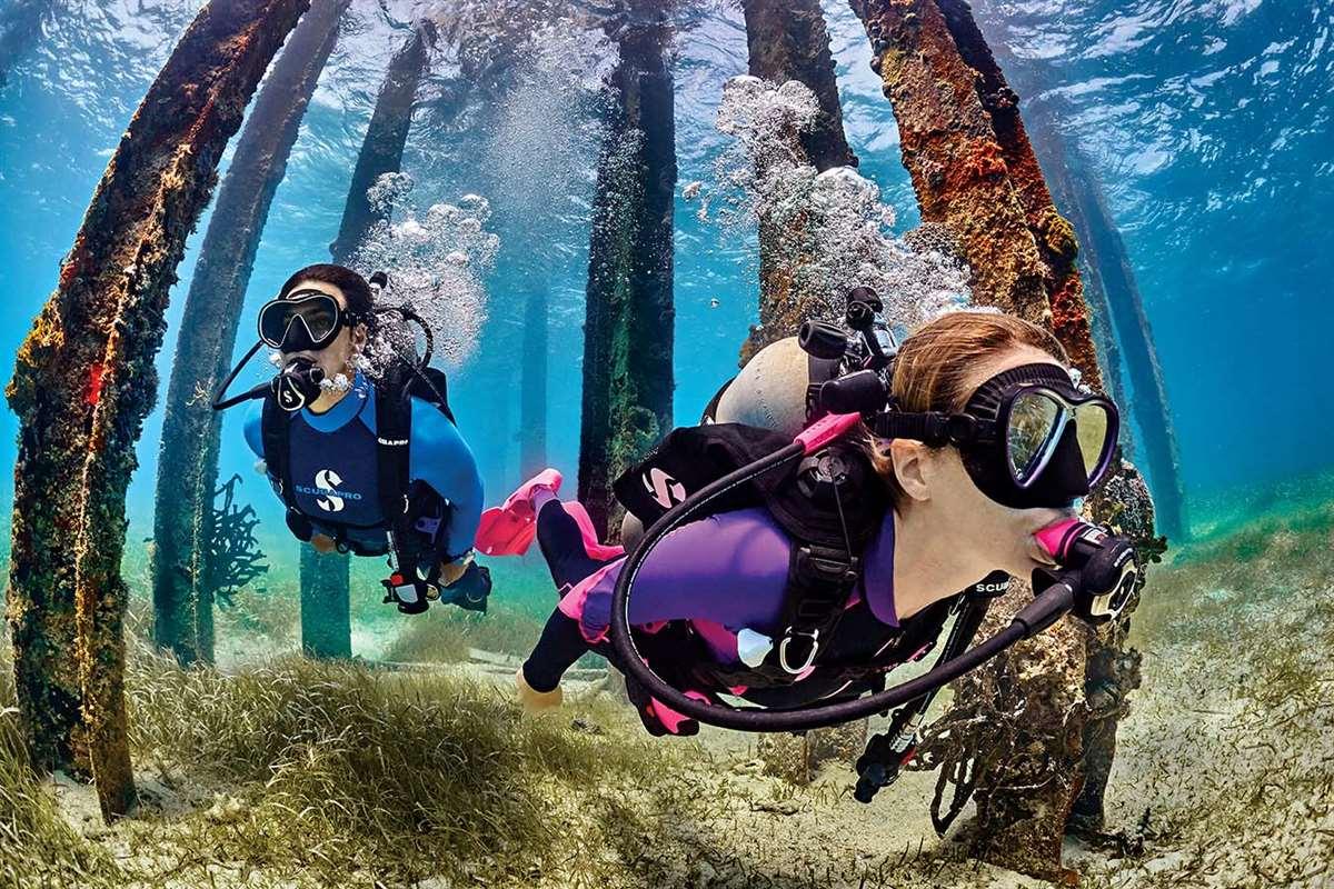 加勒比海库拉索岛潜水中心