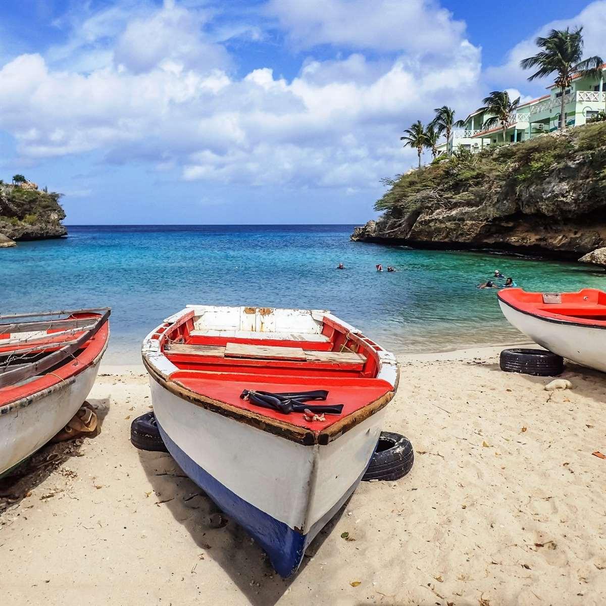加勒比海库拉索岛海滩