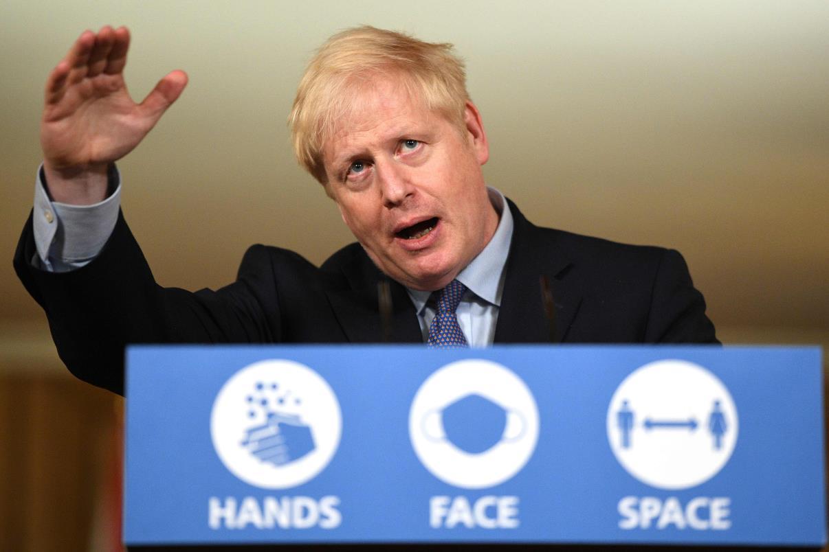 英国首相鲍里斯