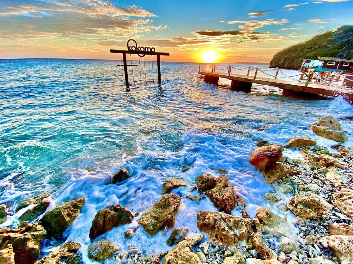 加勒比海库拉索岛Kokomo海滩