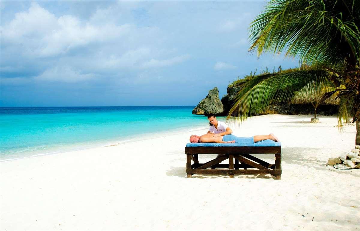 加勒比海库拉索岛Cas Abao海滩