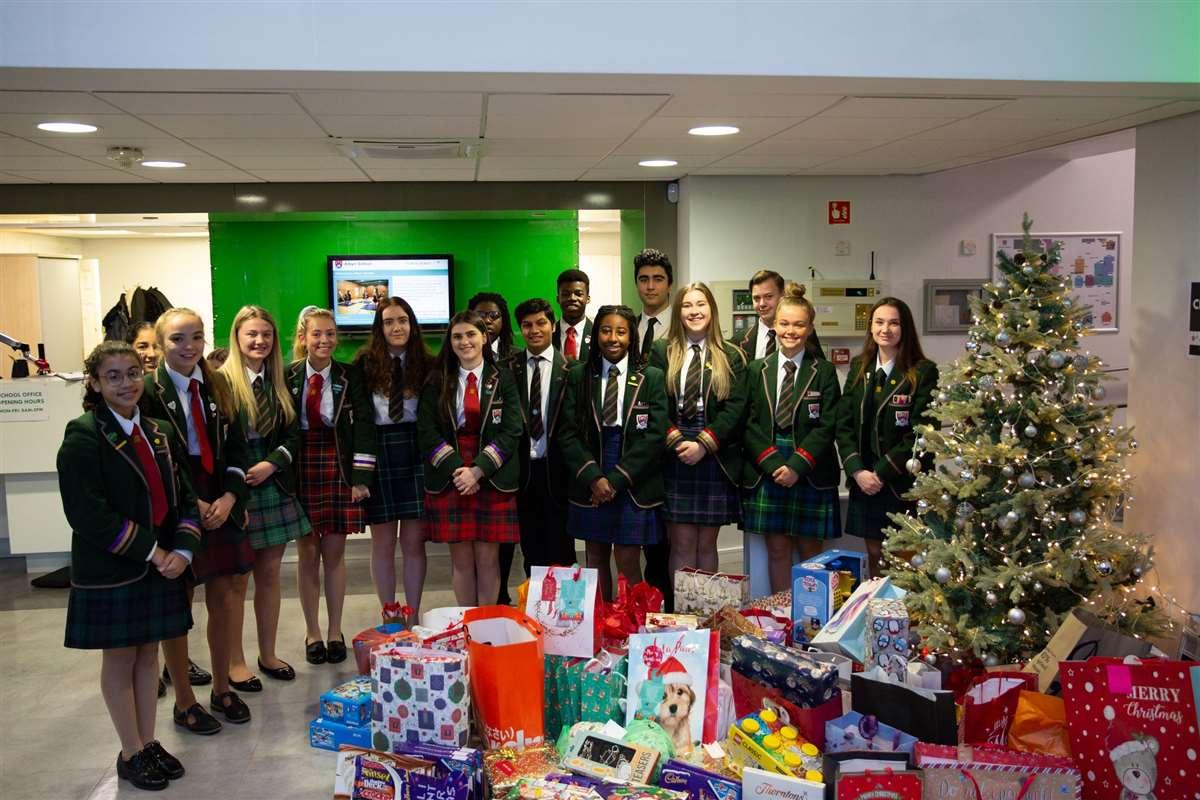 英国留学苏格兰私立阿尔宾学校圣诞节