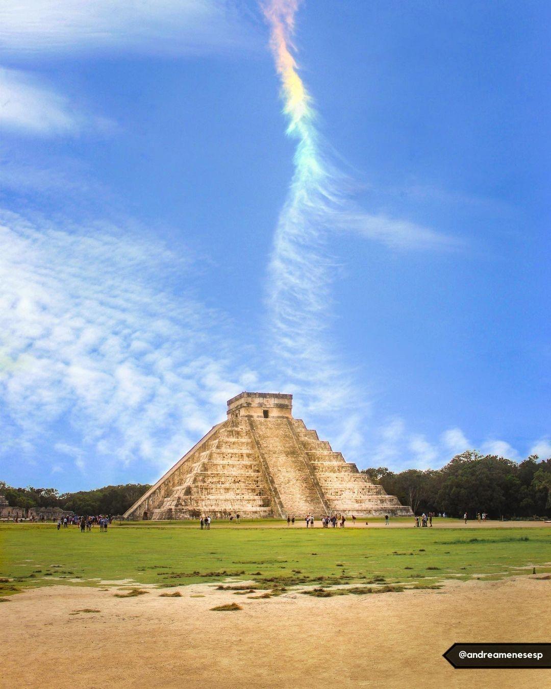墨西哥坎昆玛雅遗迹奇琴伊察