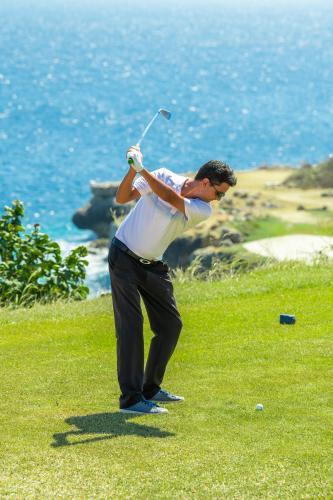 加勒比海岛库拉索蓝湾高尔夫球场