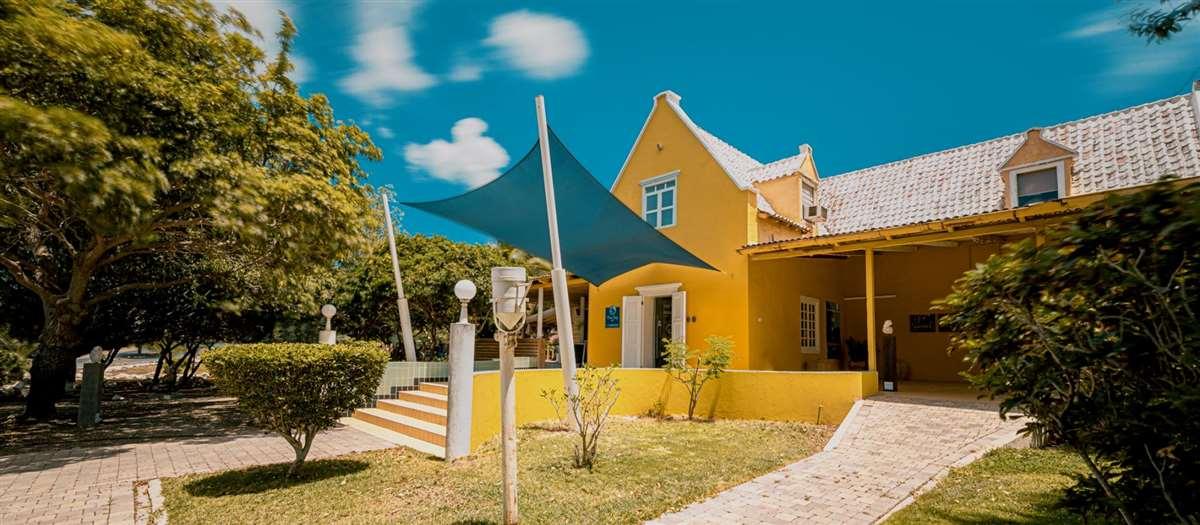 加勒比海岛库拉索蓝湾种植园