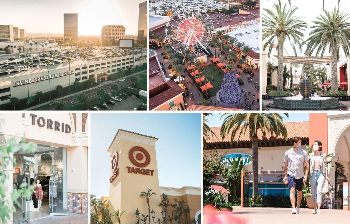美国加州橙县尔湾光谱购物中心