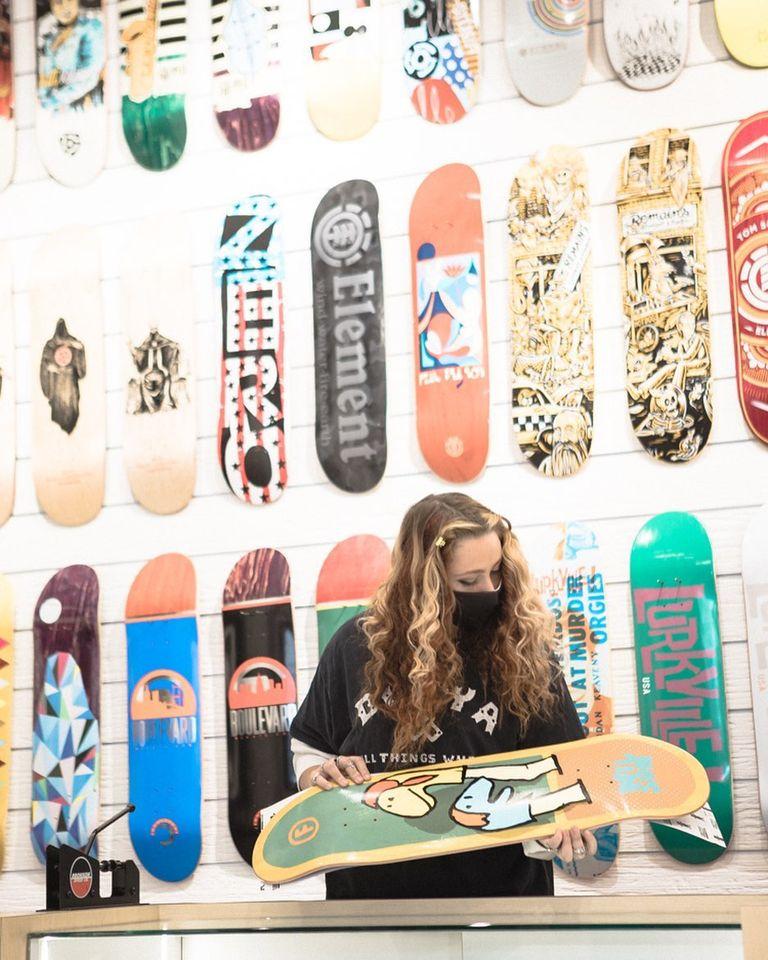 美国加州橙县尔湾光谱购物中心RSQ Skate