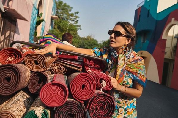 豪华精选品牌环球旅行家、知名时装设计师Margherita Maccapani Missoni
